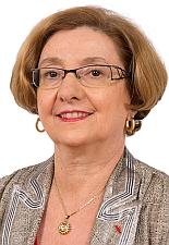 La Sénatrice Gisèle Jourda, du département de l'Aude, sud-ouest de la France