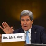 Le secrétaire d'Etat américain John Kerry a demandé au Congrès son feu vert pour la guerre contre Daesh