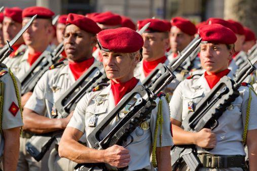 Les femmes dans l'armée française (Crédit photo: Ministère de la Défense)