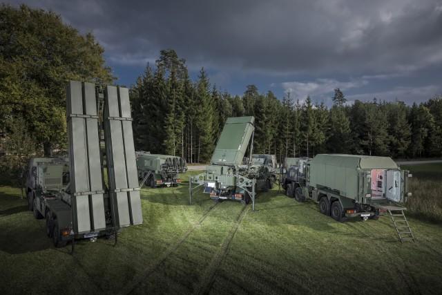 Le système MEADS, proposé par MBDA et Lockheed Martin pour le programme TLVS (Crédit photo: MBDA/Lockheed Martin)