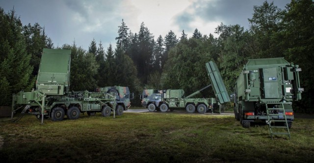 Le système MEADS développé par MBDA et Lockheed Martin, qui servira de base au TLVS allemand (Crédit photo: MBDA)