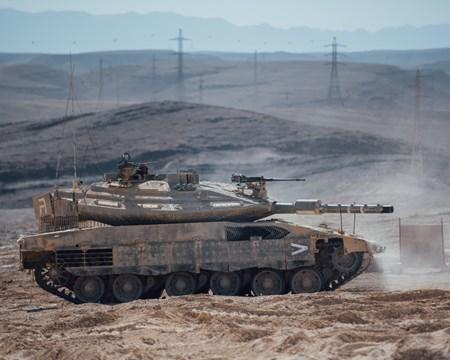 Le Merkava 4, qu'on ne présente plus (Crédits : Israel Defence Forces)