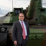 Stéphane Mayer, président du GICAT et PDG de Nexter (Crédit: Nexter)