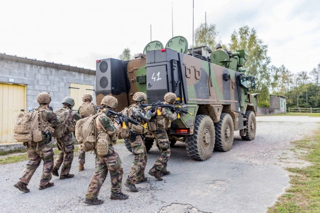 Les marsouins du 3e RIMa lors d'une récente phase de préparation opérationnelle opérationnelle au camp de La Courtine (Crédits : 3e RIMa)