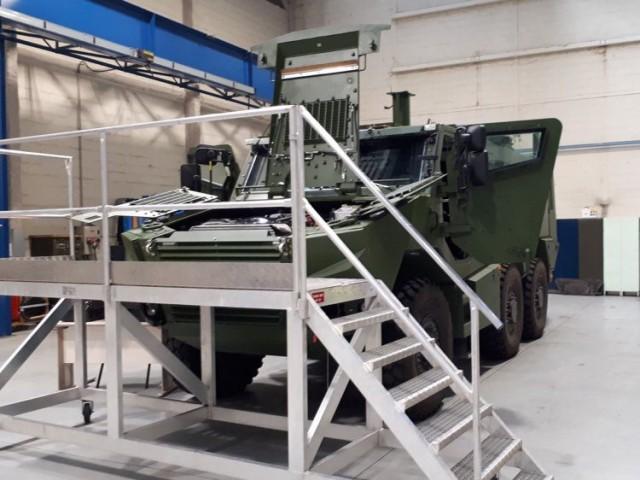 Quid du soutien en service du Griffon, notamment. Ici au détachement de Gien de la 12e BSMAT (Crédits: 12e BSMAT)