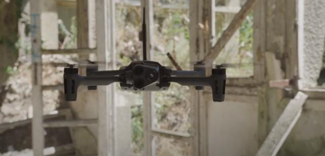 Le micro-drones Anafi USA de Parrot, certifié pour l'ensemble des entités fédérales américaines (Crédits : DIU)