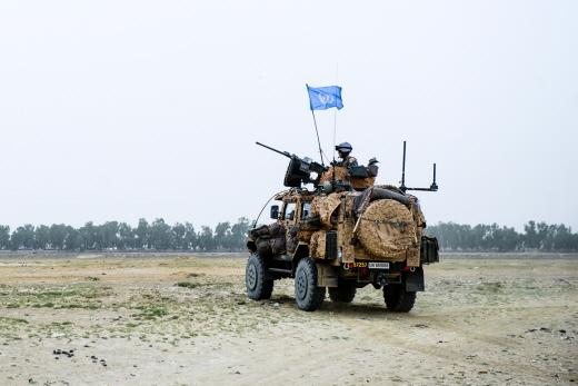 Des militaires suédois déployés au Mali dans le cadre de la MINUSMA (Crédit: Anton Thorstensson / Försvarsmakten)