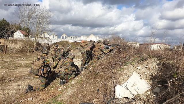 Le 1/3 bataillon de Lanciers de la Composante Terre belge, partenaire privilégié de l'armée de Terre
