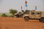 Des véhicules Lynx et Dingo II du bataillon ISTAR de la Composante Terre déployé au Mali dans le cadre de la MINUSMA (Crédit: Bn ISTAR)