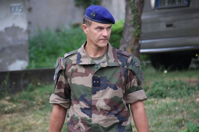 Le général Frédéric Gout, commandant de la 4e brigade d'aérocombat (Crédit : 4e BAC)