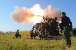 L'un des 37 canons CAESAR 6x6 en service au sein de l'armée indonésienne (Crédit :  KOSTRAD)