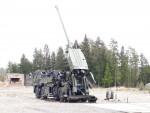 L'un des premiers CAESAR 8x8 de l'armée royale danoise à l'essai en Suède (Crédit: DALO)