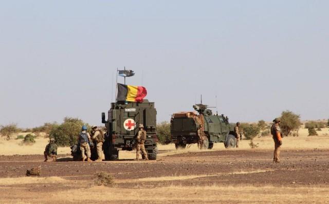 Des éléments du bataillon ISTAR déployés au Mali dans le cadre de la MINUSMA (Crédits : Btn ISTAR/ministère de la Défense)