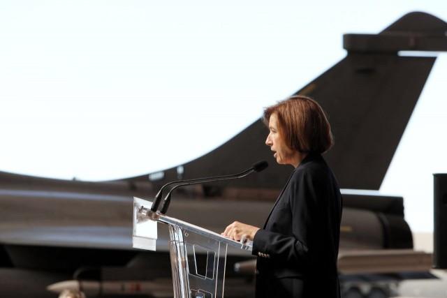 La ministre des Armées Florence Parly lors des UED 2019 (Crédit: Twitter/Ministère des Armées)
