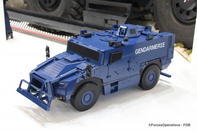 """Une variante """"Gendarmerie"""" dévoilée par Nexter au salon Milipol"""