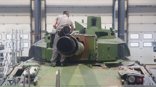 Nexter exécute déjà des contrats de type MSS pour les parcs d'entraînement de l'armée de Terre