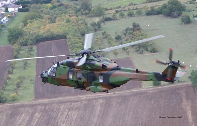 Le NH90 Caïman de l'ALAT, lui aussi concerné par le programme HM NG ?