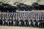 Défilé militaire chinois le 30 juillet 2017 pour les 90 ans de l'armée populaire de libération