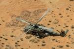 L'un des hélicoptères NH90 TTH de la Composante Air déployés en 2018 au Mali (Crédits: Défense belge)