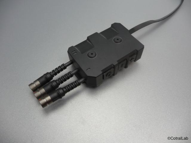 La version n°1 de BANG, compatible avec les radios PR4G et RIF, ainsi qu'avec la solution Auxylium (Crédits: ISL/Cotral Lab)