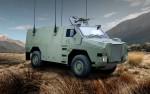 Vision d'artiste du futur Bushmaster NZ5.5 de l'armée néo-zélandaise (Crédits: NZDF)