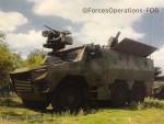 Une idée préliminaire de ce que sera le Griffon MEPAC, capture d'écran prise sur le stand de la DGA lors de la Fabrique Défense