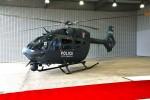 Le premier H145M réceptionné par la Direction de la Défense et la Police luxembourgeoises (Crédit: Direction de la Défense)